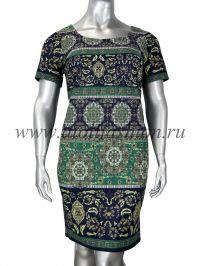 Платье DZYN - 11340 B большие размеры, есть разбивка Работаем с регионами. Скидки на доставку.